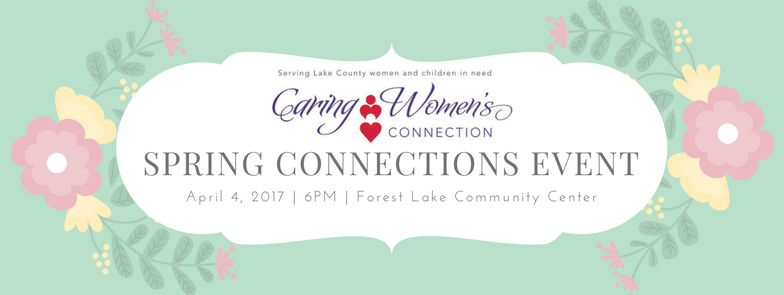 April Caring Women's Connection Event