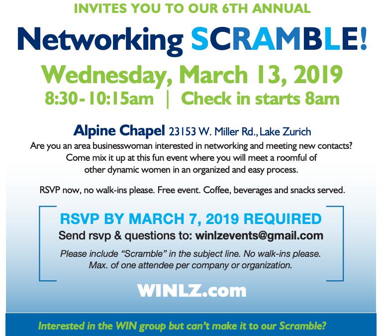 Networking Scramble!